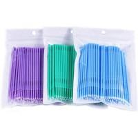 Микробраши в пакете (палочки для коррекции ресниц) 100 шт